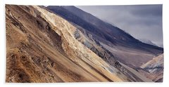Beach Towel featuring the photograph Mountainside by Whitney Goodey