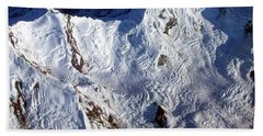 Mountaintop Snow Beach Sheet
