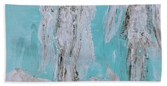 Mr And Mrs Angels Beach Towel