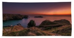 Mullion Cove - Sunset 2 Beach Towel