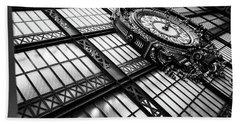Musee D'orsay Clock Beach Sheet