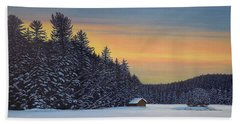Muskoka Winter Beach Towel