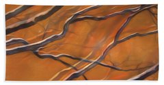 Beach Sheet featuring the mixed media Mystic Forest 12 by Lynda Lehmann