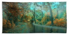 Mystic Morning Beach Towel