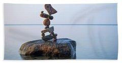 Zen Stack #9 Beach Towel