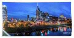 Nashville Night Beach Sheet