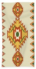 Native American Rug Beach Towel