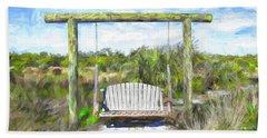 Nature Swing Beach Towel