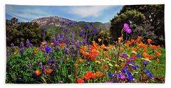 Nature's Bouquet  Beach Sheet