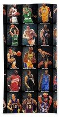 Nba Legends Beach Towel
