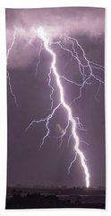 Nebraska Arcus And Lightning 046 Beach Towel