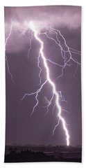 Nebraska Arcus And Lightning 046 Beach Sheet