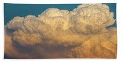 Nebraska Sunset Thunderheads 053 Beach Towel