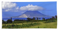 Beach Towel featuring the photograph Nevis by Tony Murtagh