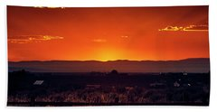 New Mexico Sunset Beach Towel