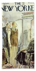 New Yorker April 18th 1942 Beach Towel