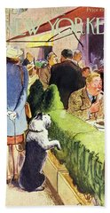 New Yorker August 17th 1946 Beach Towel