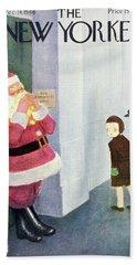 New Yorker December 14th 1946 Beach Towel