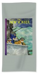 New Yorker December 26th 1942 Beach Towel