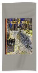New Yorker December 28, 1946 Beach Towel