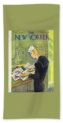 New Yorker February 14th 1942 Beach Towel