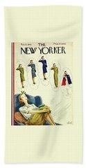 New Yorker February 27th 1943 Beach Towel