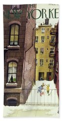 New Yorker February 2nd 1946 Beach Towel