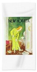 New Yorker January 26th 1946 Beach Towel