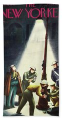 New Yorker January 30th 1943 Beach Towel