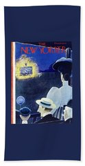 New Yorker July 6 1946 Beach Towel