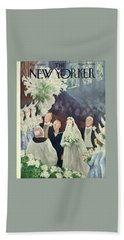 New Yorker March 20th 1943 Beach Towel