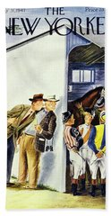 New Yorker May 31st 1947 Beach Towel