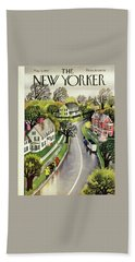 New Yorker May 3, 1947 Beach Towel