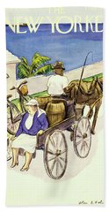 New Yorker May 4th 1946 Beach Towel