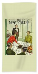 New Yorker November 27th 1943 Beach Towel