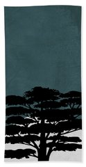 Night In Safari Beach Towel