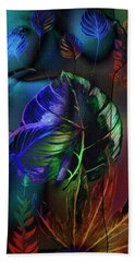 Beach Towel featuring the photograph Night Moves by Edmund Nagele