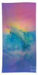 Beach Towel featuring the mixed media No Limits by Sabine ShintaraRose