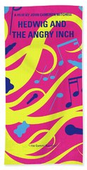 No1046 My Hedwig And The Angry Inch Minimal Movie Poster Beach Towel