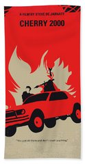 No1070 My Cherry 2000 Minimal Movie Poster Beach Towel