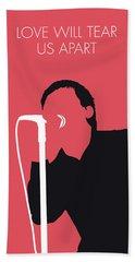 No212 My Joy Division Minimal Music Poster Beach Towel