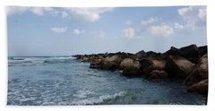 North Beach Jetty Beach Towel