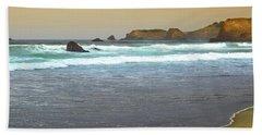Northern California Coast Beach Towel