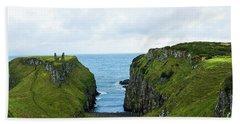 Northern Ireland Coast Beach Towel