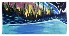 Northern Magic Beach Towel