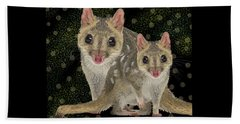 Northern Quoll 3 Beach Towel
