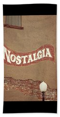 Nostalgia  Beach Towel