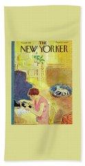 New Yorker November 10, 1951 Beach Towel
