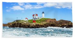 Nubble Light 3x1 Beach Sheet