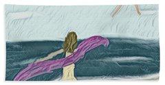 Ocean Dance Beach Towel